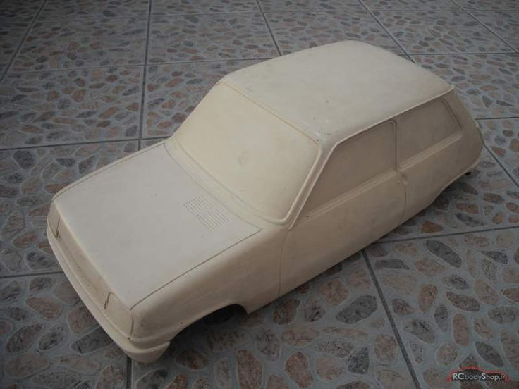 OG | 1972 Renault 5 - Project 122 | Scale clay model