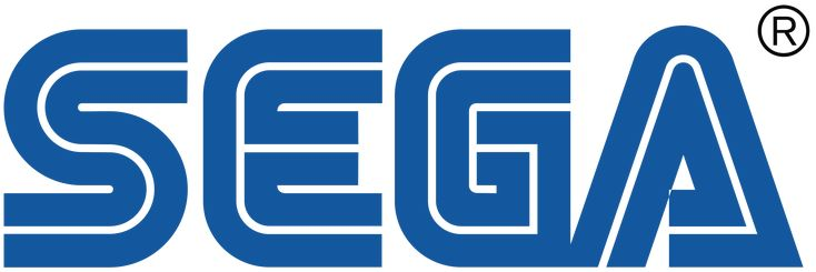 The logo of SEGA, a coin-op company that entered the video game industry in the 1980s. Creator of Sonic the Hedgehog, the Genesis home console, and other classics.