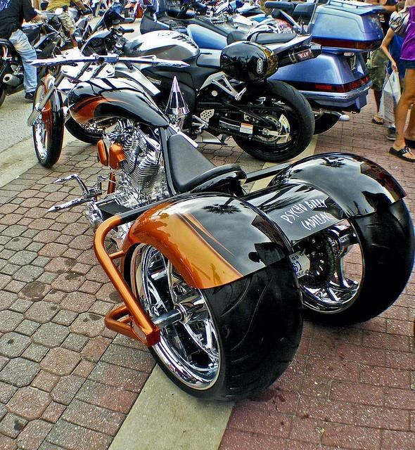 Amazing 3 Wheelers - #searchlocated - Custom Trike! - more amazing cars here: http://themotolovers.com
