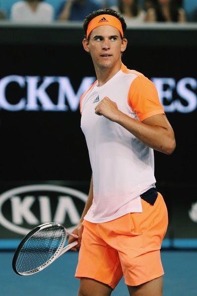 Dominic Thiem | 2017 Australian Open Day 4 (2R)
