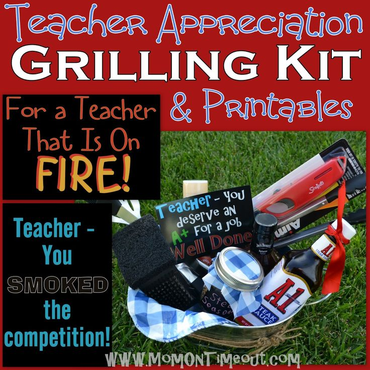 33 best teacher appreciation images on pinterest teacher gifts teacher appreciation gift idea grilling kit mom on timeout negle Image collections