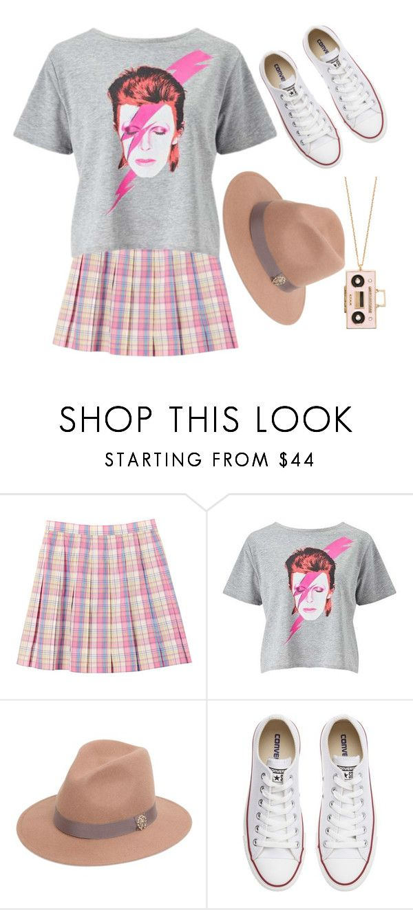 """""""Untitled #1357"""" by burn-notice ❤ liked on Polyvore featuring Miss Selfridge, Roberto Cavalli, Converse and Kate Spade"""