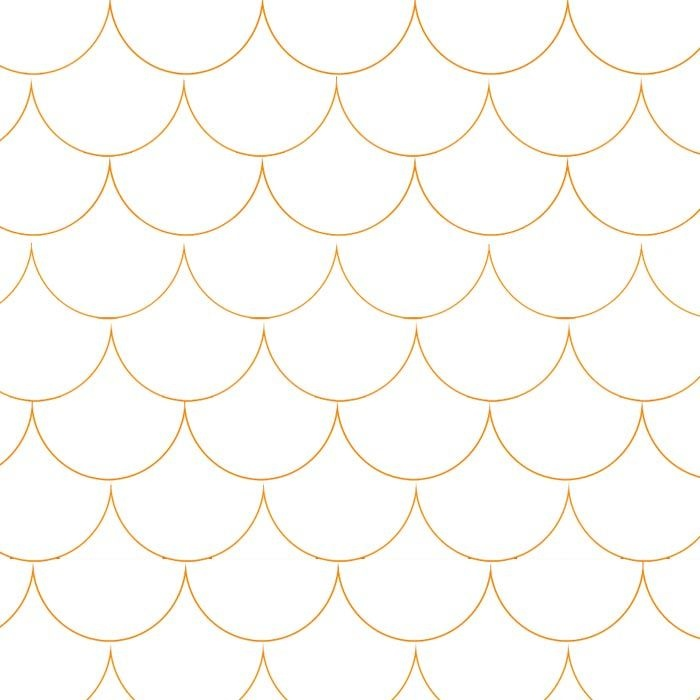 Peter Wallpaper in Reverse PulpPeter Wallpapers, Scallops Design, Scallops Wallpapers, Reverse Pulppet, Baby Wall, Modern Wallpapers, Etchings Design, Gold Geometric Pattern, Gold Scallops