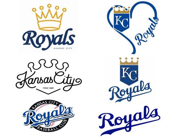 Kansas City Royals Svg Eps Dxf Png Pdf Instant Download
