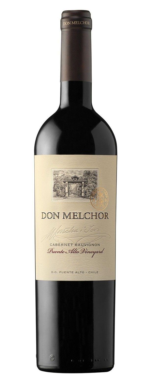 Don Melchor 2010 - Cabernet Sauvignon - DO Puente  Alto (Chile) - Entre 10 mejores vinos del mundo y único vino chileno que accede por puntaje de la Revista Wine Spectator. 2014