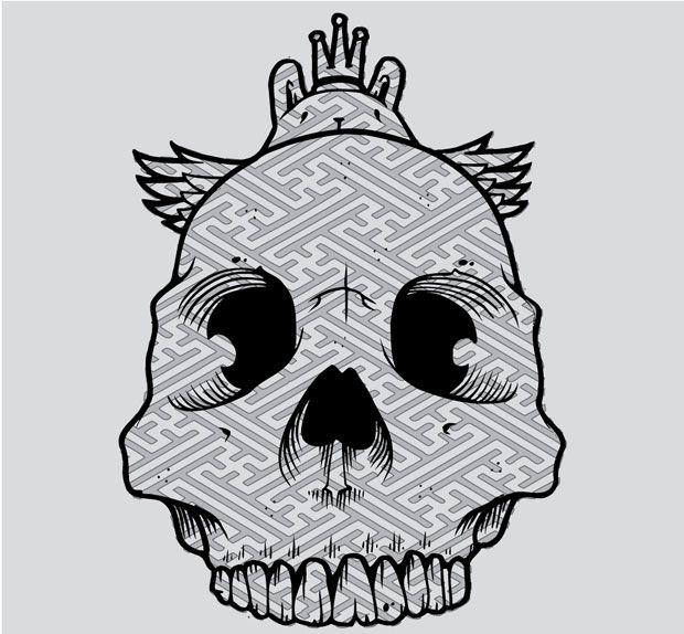 Jeremy fish owl skull images for Jeremy fish art