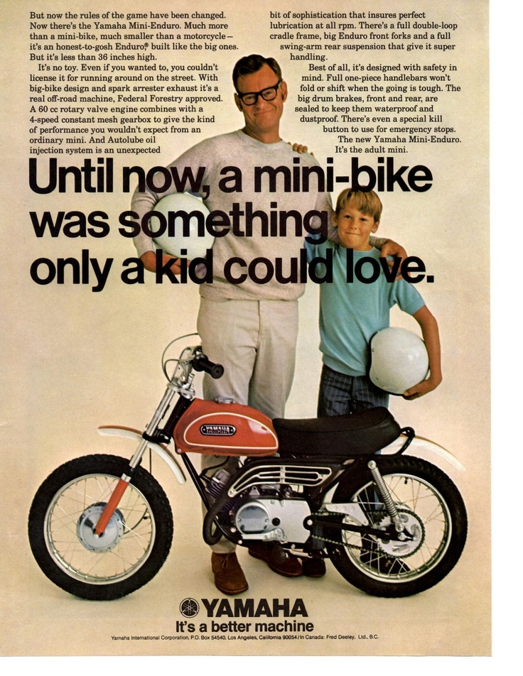 Something only a kid could love motorcycle pinterest for Garage yamaha paris