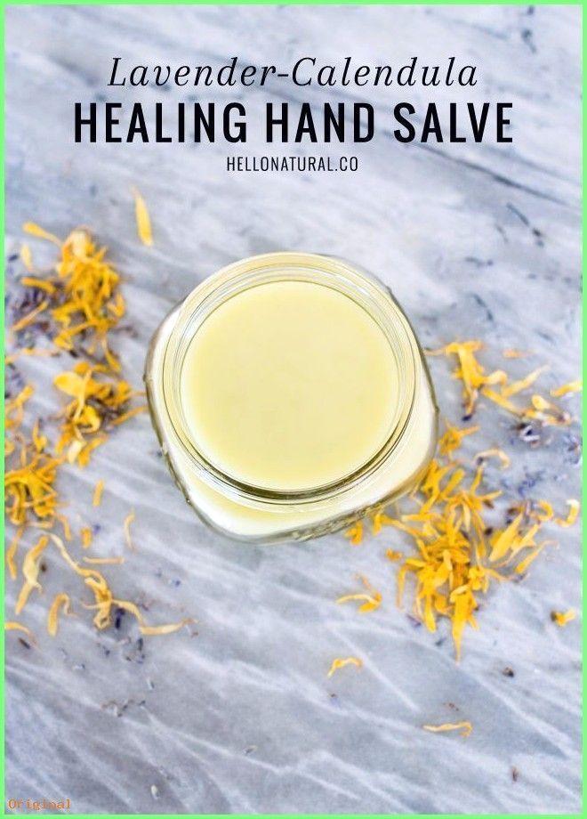 50+ Hautpflege – Lavendel Calendula Hand Salve Rezept | HelloNatural.co #beautyh…