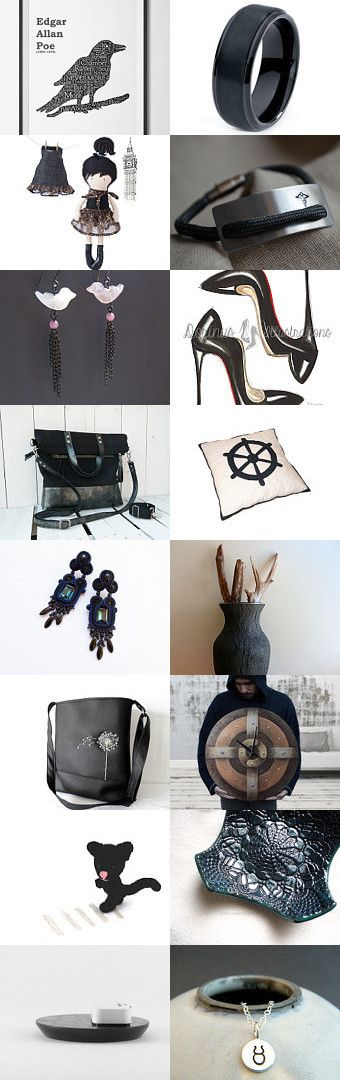 Black and white by Kinga on Etsy--Pinned with TreasuryPin.com