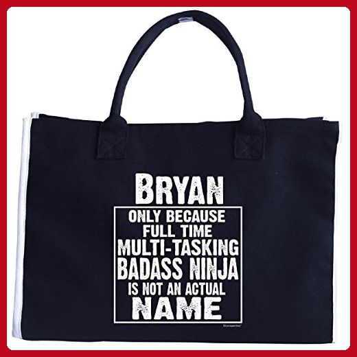Bryan Cos Multi-tasking Ninja Is Not An Actual Name - Tote Bag