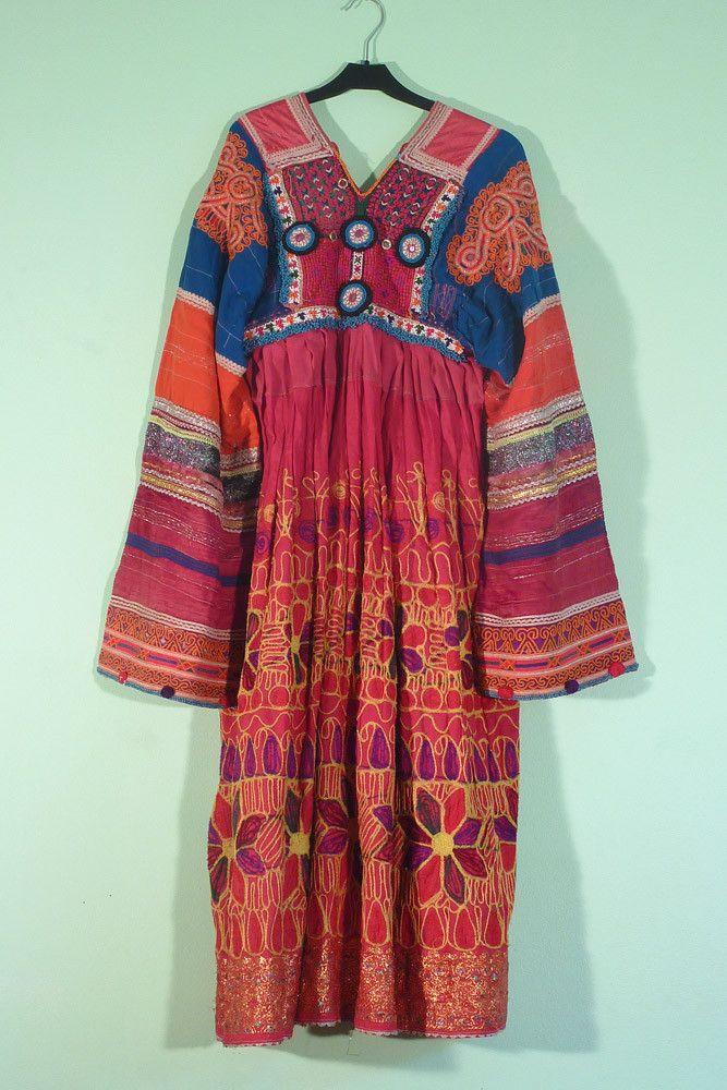 Afghan dress --indiVintage.com