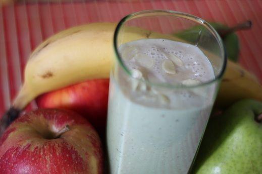 Koktajl bananowo - gruszkowy