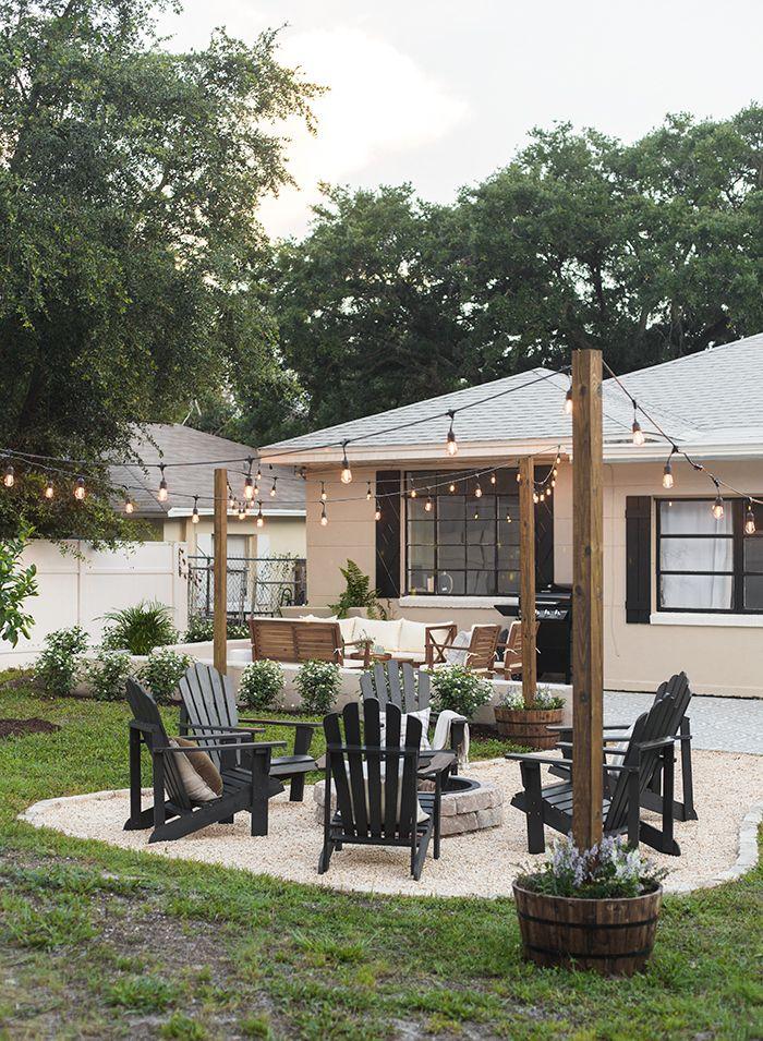 Backyard Makeover Reveal Riverside Retreat Backyard Makeover