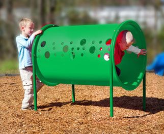 Freestanding Crawl Tunnel | Freestanding Equipment | Church Playgrounds | Commercial Playground Equipment