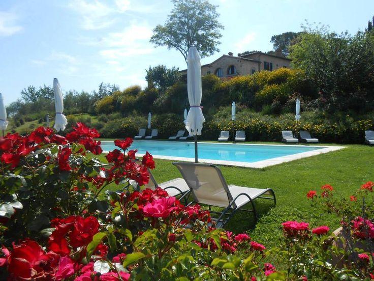agriturismo romantico (bed and breakfast) con piscina
