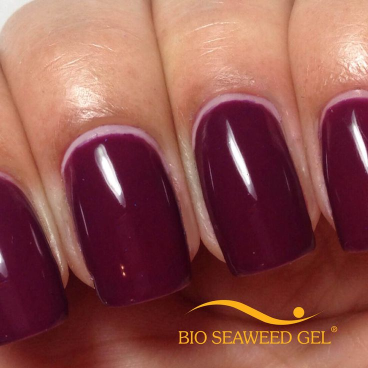 Bio Seaweed Gel! Better for your nails!