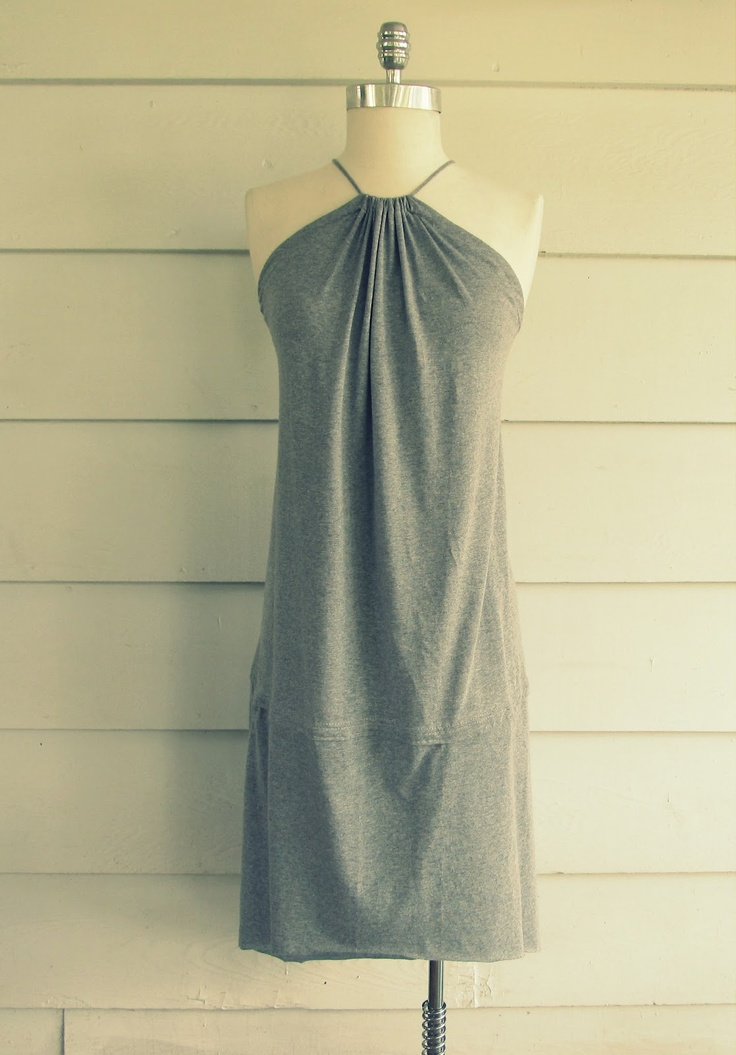 Tee-Shirt, Fishtail Sundress: Fishtail Sundress, T Shirt, Sundress Diy, Wobisobi, Sundresses, Refashion, Diy Shirts Dresses, Teeshirt