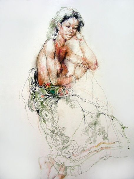 Drawings from Life - Morinba by Victor Ambrus