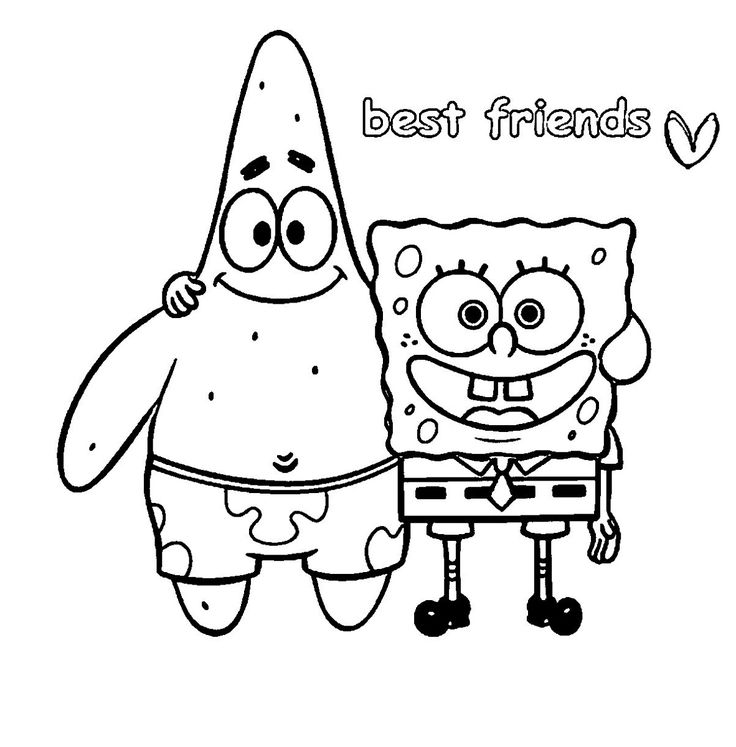 Best Friend Coloring Pages Cool coloring pages, Best