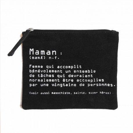 """Pochette """"Définition Maman"""""""