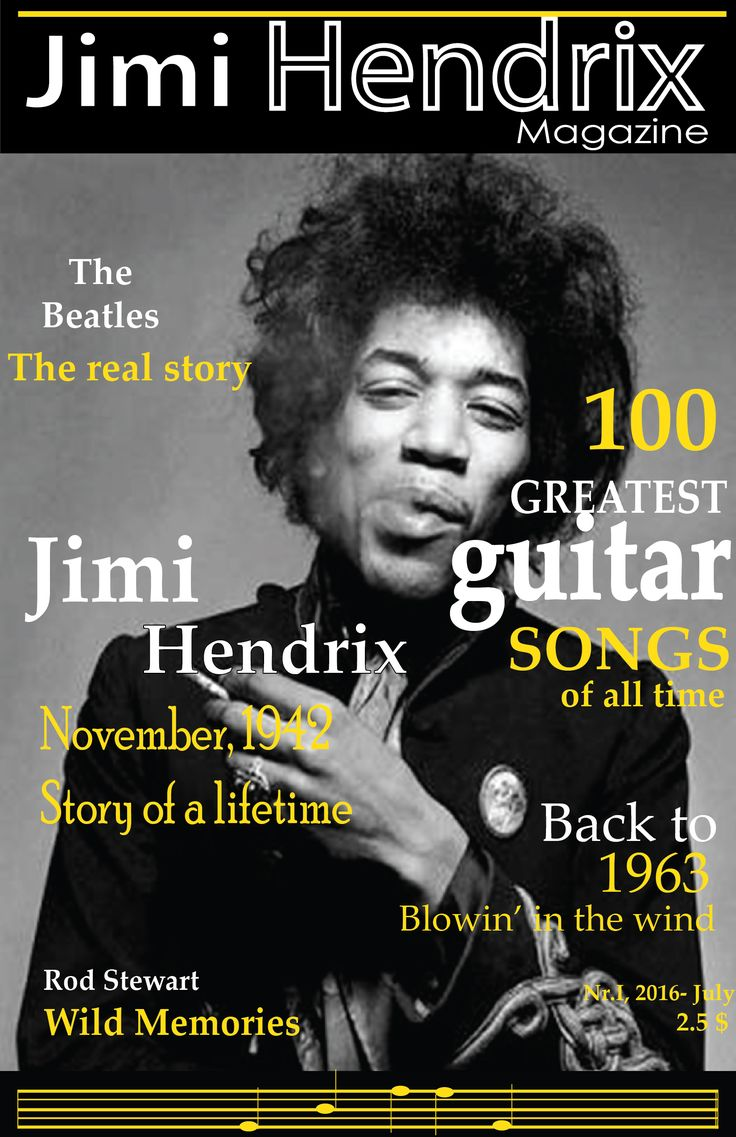 jimi hendrix cover magazine
