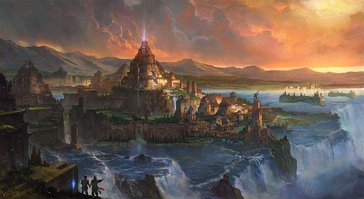 Dreams of Atlantis by flaviobolla.deviantart.com on @DeviantArt