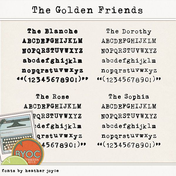 The Golden Friends