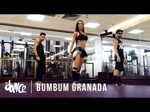 Bumbum Granada - MCs Zaac & Jerry - Coreografia | FitDance - YouTube
