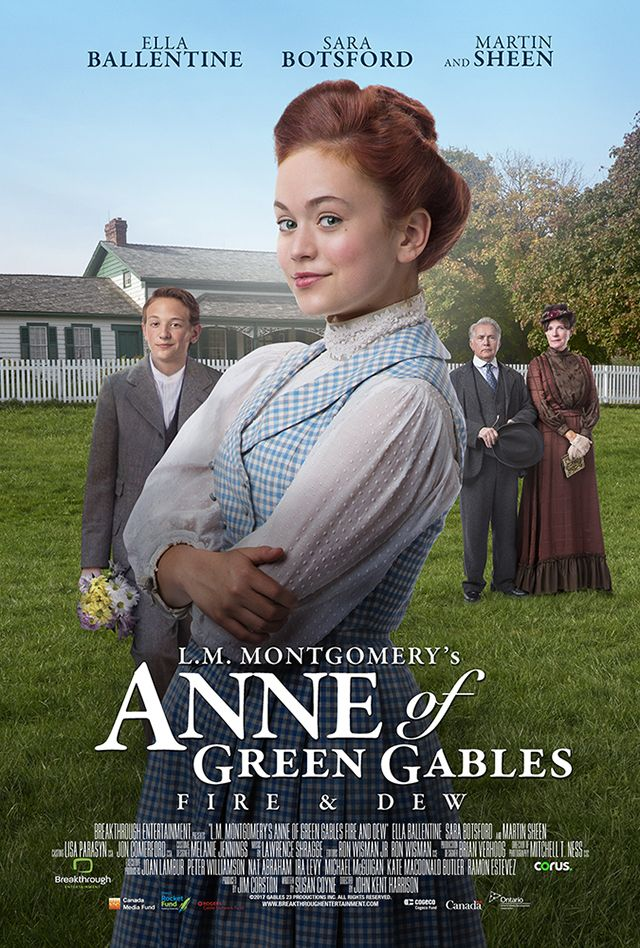 L M Montgomery S Anne Of Green Gables Fire Dew With Images