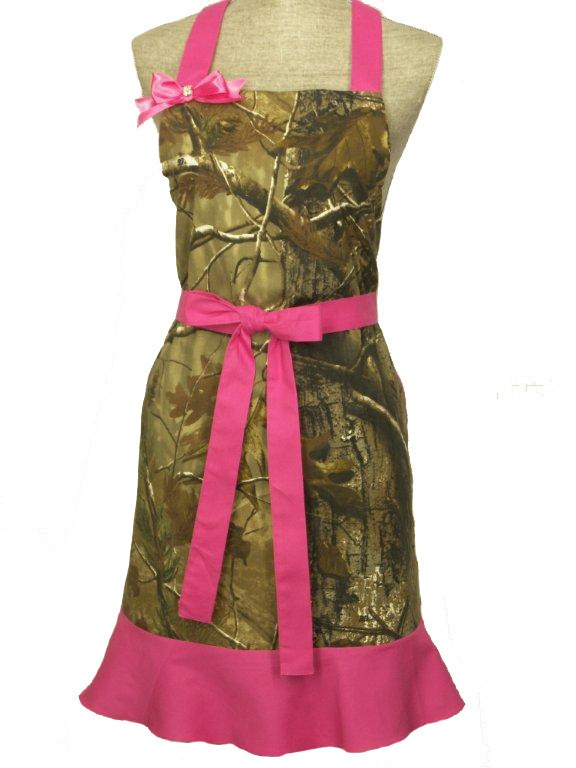 Realtree Camo apron with two large pockets EGDuD