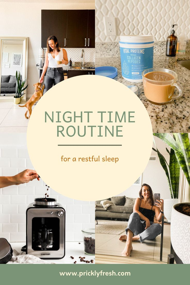 The importance of a nighttime routine, every step in my routine and how I set myself up for a restful sleep every single…