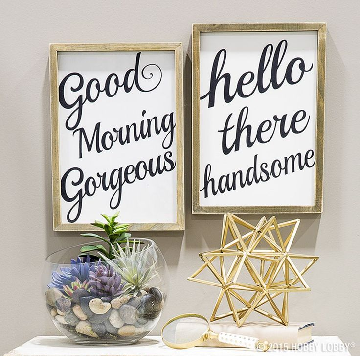 Images Photos These adorable accents are the perfect way to start your day Simple chic and Bathroom MirrorsBathroom Wall SayingsWall Decor