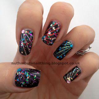 Best 25 firework nail art ideas on pinterest firework nails firework nails striping tape manicure great colors nail art prinsesfo Gallery