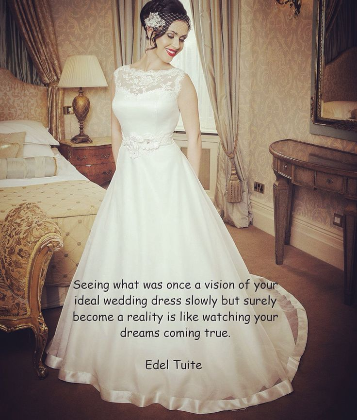 dreams become reality with edel tuite bridal designer