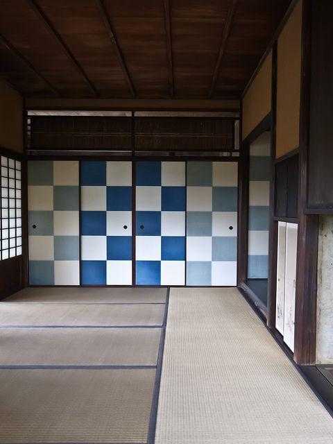 Katsura-rikyu, Kyoto, Japan室内空间 住宅 和室 日式风格