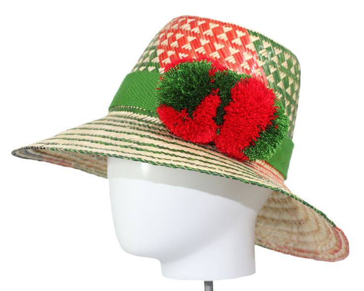 Multi Color - Straw Hat