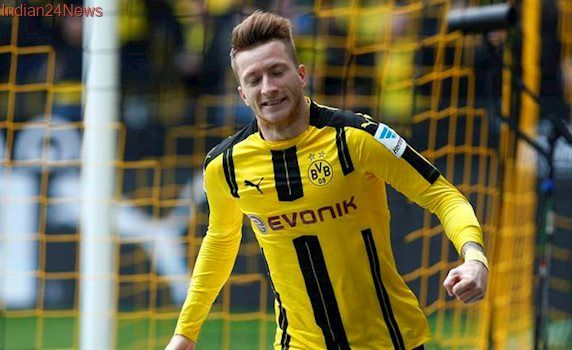 Borussia Dortmund's Marco Reus out several months with cruciate ligament tear
