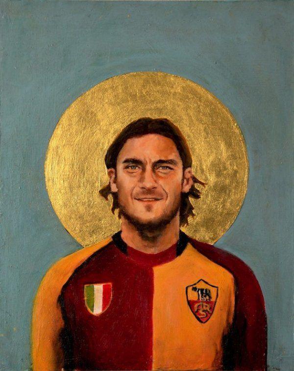 Pelé, Maradona e outros ídolos viram pinturas de santinhos - Guia do Boleiro