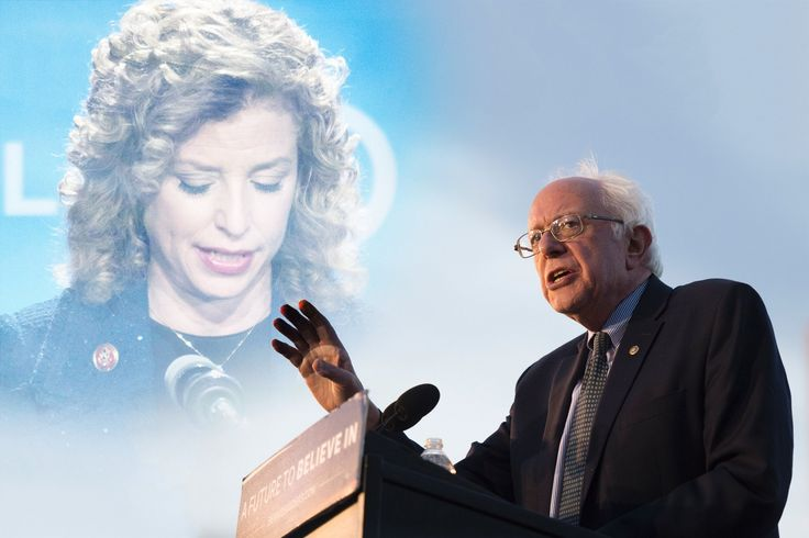 Bernie Sanders Tries to Sarah Palin DNC Chairwoman By Endorsing Her Primary Opponent