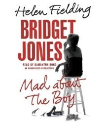 Bridget Jones: Mad About the Boy (Bridget Jones #3) by Helen Fielding, Samantha Bond (Narrator) #audiobook #audioreading #bridgetjones #humour #britishhumour
