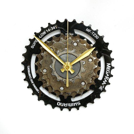 Shimano Bike Wall Clock Bicycle Gear Clock Bicycle Wall