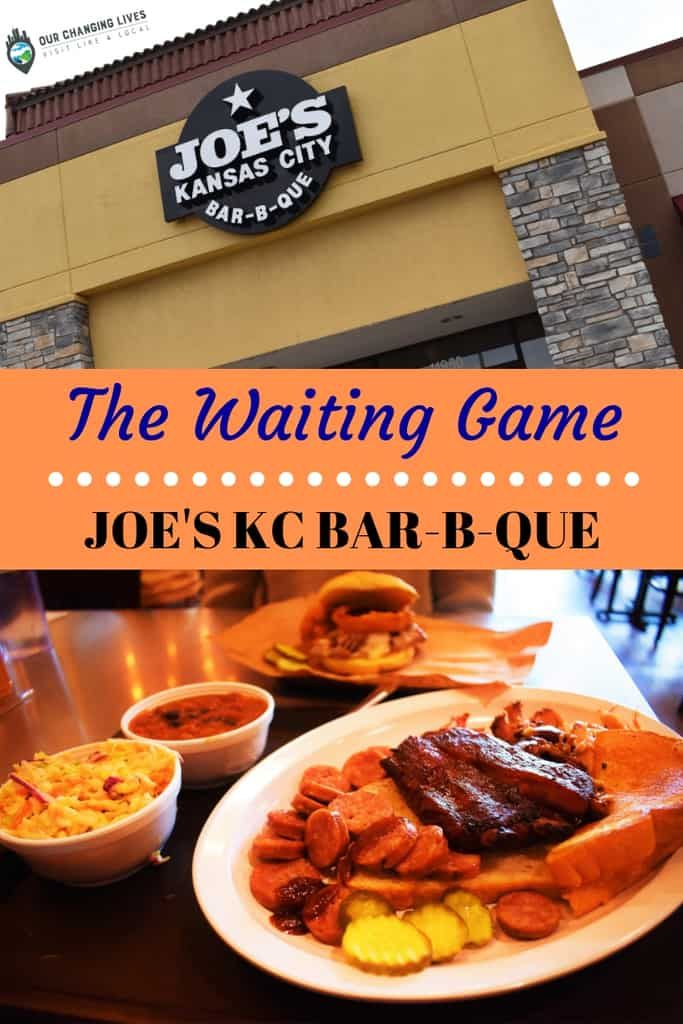 The Waiting Game At Joe S Kc Bbq Wine Recipes Bbq Kansas City Barbeque