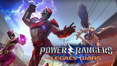 Download Game Power rangers: Legacy Wars Apk for Android From Gretongan in Action Category