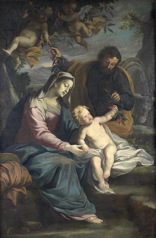 Bonhams : Old Master Paintings  Ippolito Scarsella detto lo Scarsellino