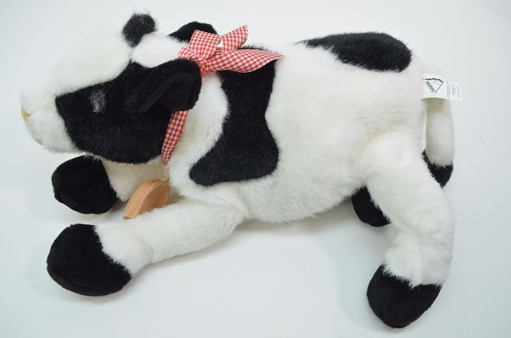Applause Cheyenne Cow Plush Bell on neck Realistic Stuffed Animal #24494 #Applause