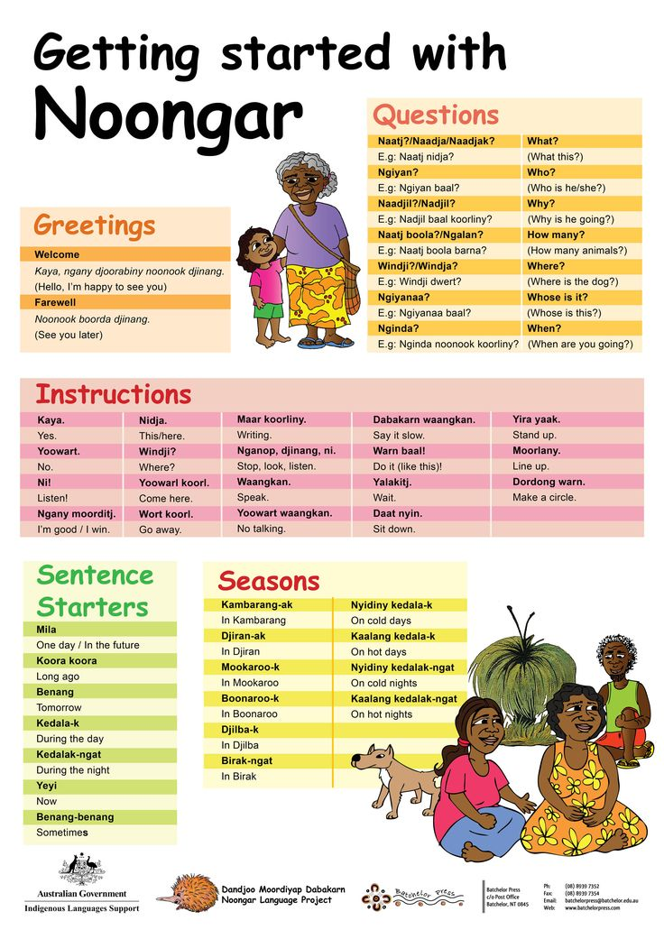 Noongar Language Project | Batchelor Press Online Store