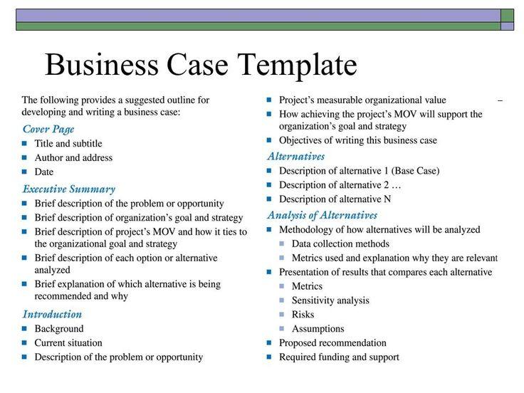 13 best business case images on pinterest best photo boxes and resultado de imagen para business case template wajeb Gallery
