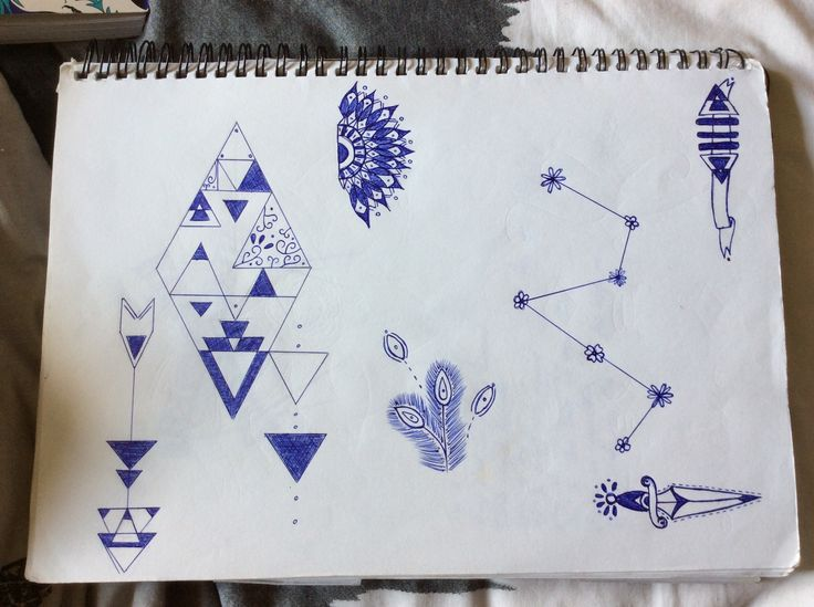 Page of smaller designs