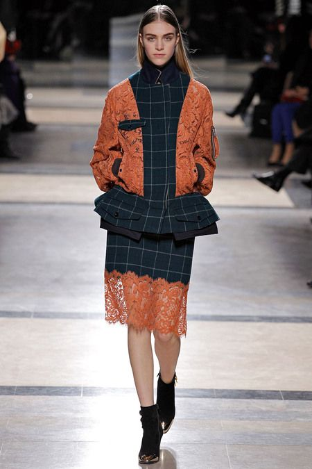 Sacai Fall 2013 LOOK 19
