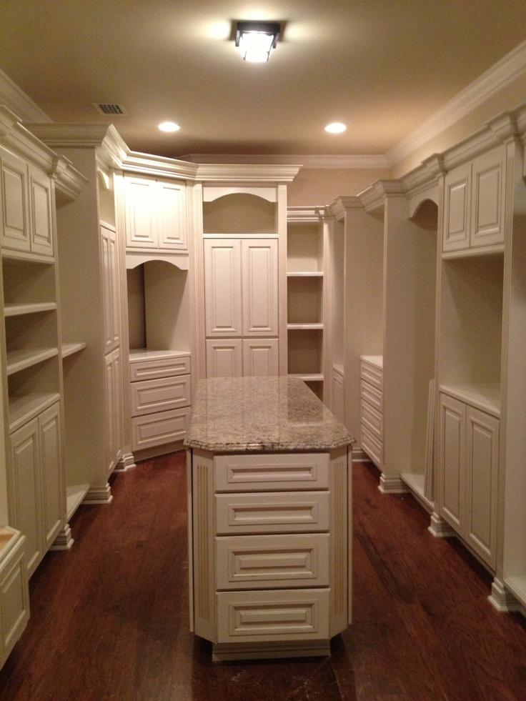 40 best dream closet images on Pinterest | Walk in closet ...
